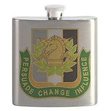 PSYOP Regimental Crest Flask