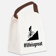 Mountain-Biking-06-A Canvas Lunch Bag