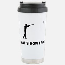 Skeet-Shooting-12-A Thermos Mug