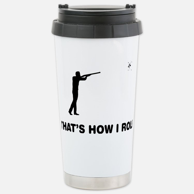 Skeet-Shooting-12-A Travel Mug