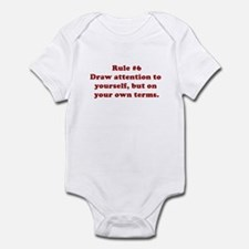 Rule #6 Infant Bodysuit