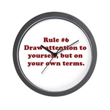 Rule #6 Wall Clock