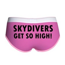 Skydivers get so high Women's Boy Brief