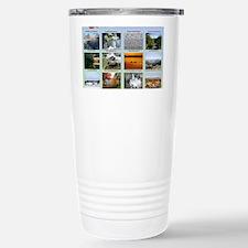 DixPix Calendar Sampler Stainless Steel Travel Mug
