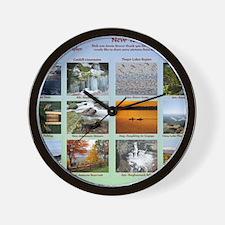 DixPix Calendar Sampler 1 Wall Clock