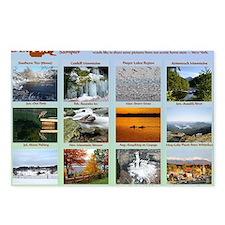 DixPix Calendar Sampler 1 Postcards (Package of 8)