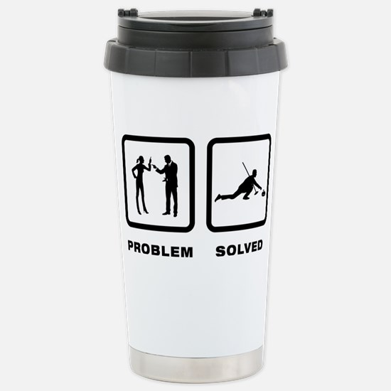 Curling-10-A Stainless Steel Travel Mug