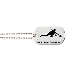 Curling-03-A Dog Tags