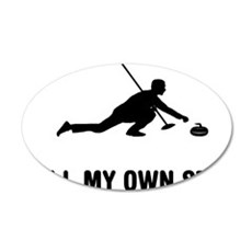 Curling-03-A Wall Decal