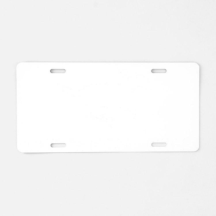 Horse-Racing-12-B Aluminum License Plate
