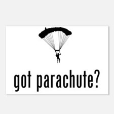 Parachuting-02-A Postcards (Package of 8)
