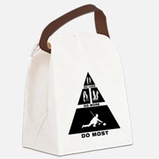 Curling-11-A Canvas Lunch Bag