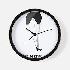 Paragliding-12-A Wall Clock