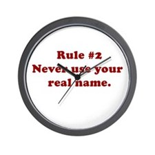 Rule #2 Wall Clock