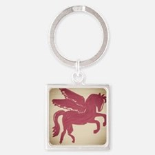 Pegasus Square Keychain