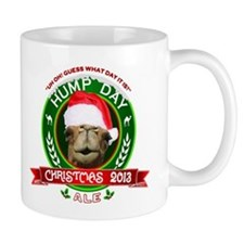 Hump Day Camel Christmas Ale Label Mugs