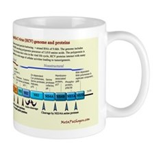 Hepatitis C Virus Mug