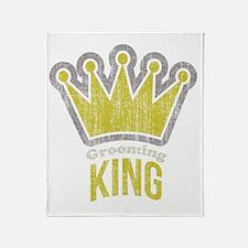 Grooming King Throw Blanket
