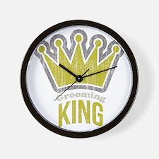 Grooming King Wall Clock