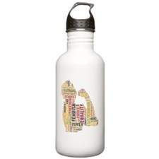 Feminism equals Streng Sports Water Bottle