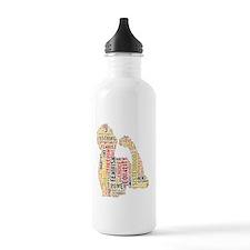 Feminism equals Streng Water Bottle