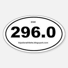 Bipolar Athlete DSM 296.0 Decal