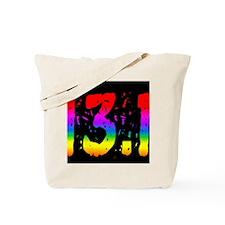 Rainbow Confetti 13.1 Tote Bag