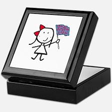 Girl & Color Guard Keepsake Box