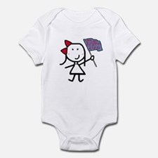 Girl & Color Guard Infant Bodysuit
