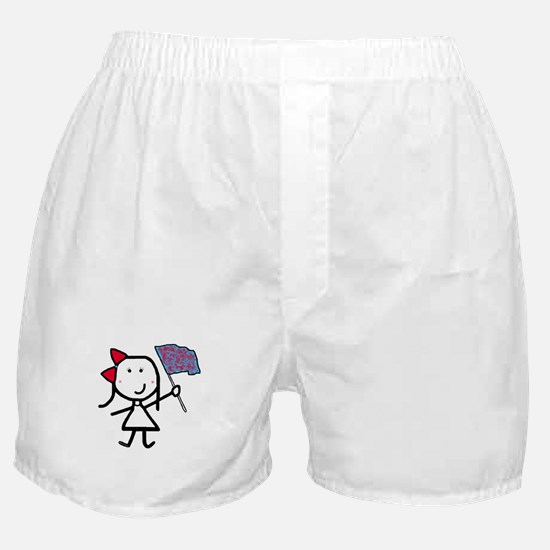 Girl & Color Guard Boxer Shorts