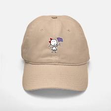 Girl & Color Guard Baseball Baseball Cap