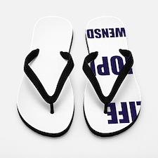 Gwensday Wednesday Flip Flops