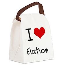 I love Elation Canvas Lunch Bag