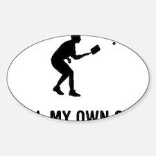 Pickleball-03-A Sticker (Oval)