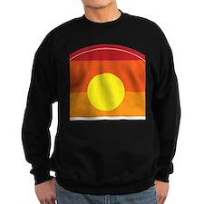 Horizon Sunset Illustration with Jumper Sweater