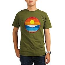 Horizon Sunset Illust T-Shirt