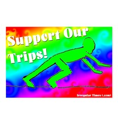 Support Our Trips Postcard