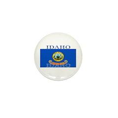 Idaho State Flag Mini Button (10 pack)