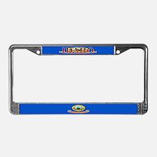 Idaho State Flag License Plate Frame
