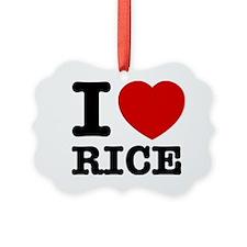 I love Rice Ornament