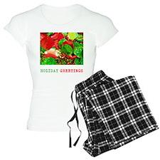 HOLIDAY GREETINGS RED AND GREEN. Pajamas