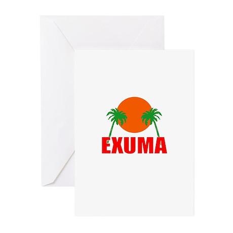 Exuma, Bahamas Greeting Cards (Pk of 10)