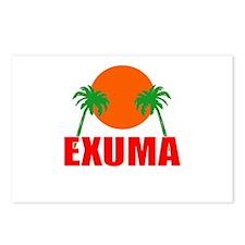 Exuma, Bahamas Postcards (Package of 8)