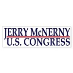 Jerry McNerny for Congress (sticker)