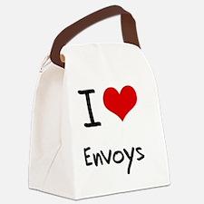 I love Envoys Canvas Lunch Bag