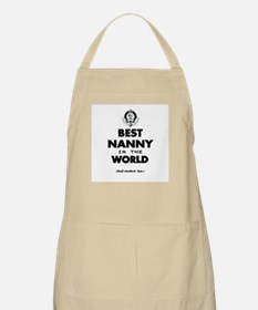 The Best in the World Nanny Apron