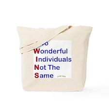 Looney Twins T-W-I-N-S Tote Bag