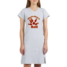 Thats How I Roll Bowling1 cp Women's Nightshirt