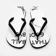 baseball slugger Flip Flops