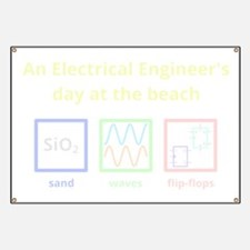 An Electrical Engineers day at the beach (f Banner
